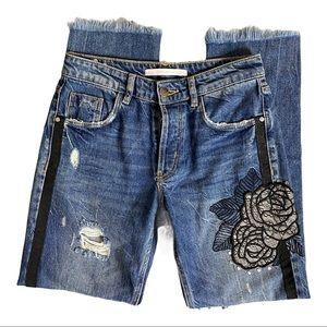 Zara | Women's Trafaluc Fray Jeans Size 00